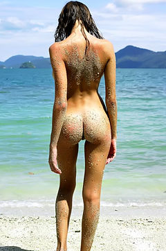 Luba Shumeyko On Sand