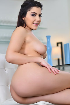 Valentina Nappi In Sexy Pink Silk Lingerie