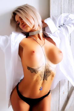 Tattooed Tits With Tasha Q